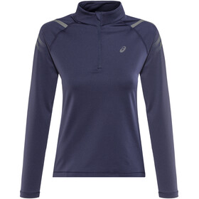 asics Icon Winter LS 1/2 Zip Top Women Peacoat/Ironclad